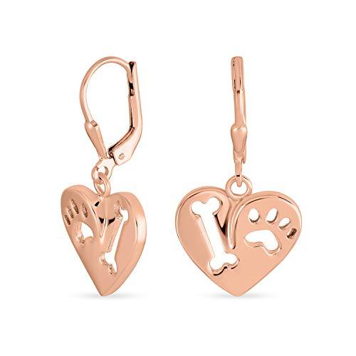 Me encanta mi forma de corazón de perro cortado cachorro animal animal animal amante pata...