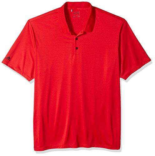 adidas Golf Performance Polo para Hombre, XXXXL, Rojo (Power Red)