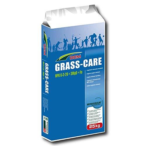 Engrais pour gazon Cuxin DCM Grass-Care - Engrais professionnel - Pour l'automne - 25 kg