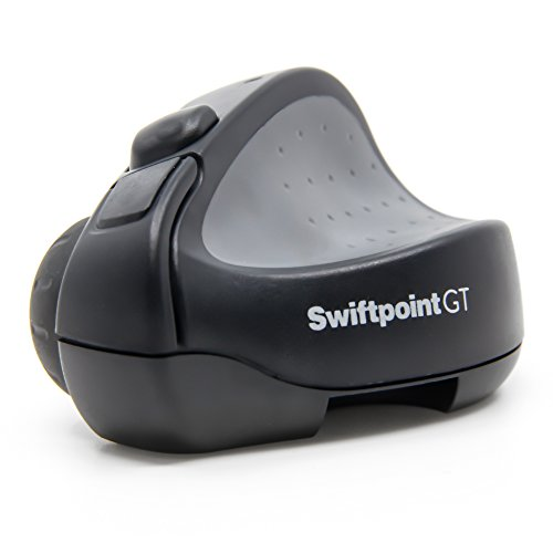 Swiftpoint GT Wireless Ergonomic Remote Desktop Travel Mouse with...