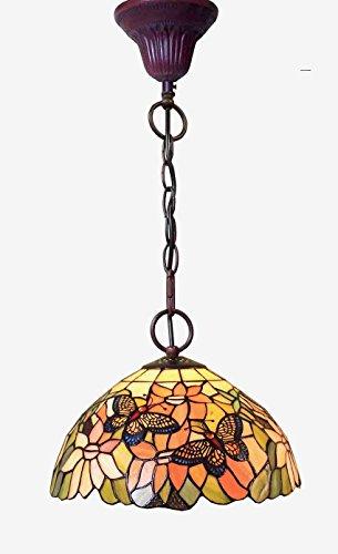 Graf von Gerlitzen Tiffany Lampe Tiffanylampe Hängelampe Deckenlampe GN104C