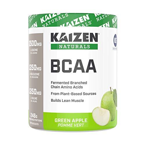 Kaizen Naturals BCAA (Branch Chain Amino Acids), Green Apple, 246 g