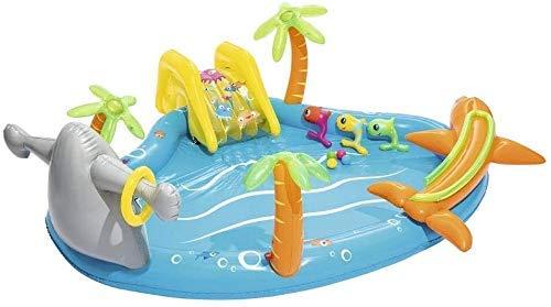 NLRHH Plegable Piscina, Piscina de Agua Inflable, Piscina de Bolas océano, Piscina Infantil, Piscina de Arena for niños, Parque acuático Inflable Juguetes del Partido Peng