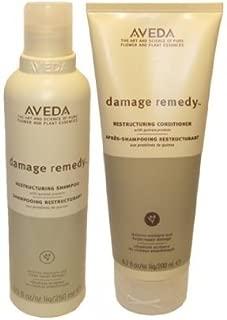 Aveda Damage Remedy Shampoo 8.5 oz & Conditioner 6.7oz Duo