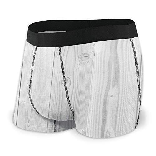 Web--ster White Board Background Herrenunterwäsche, Flat-Angle-Unterwäsche, atmungsaktiver Boxergürtel mit freiliegendem Bund Größe L.