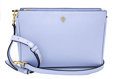 Tory Burch 74101 Blake Luna(Light Blue) Gold Hardware Women's Crossbody