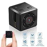 Mini Kamera, euskDE Full HD 1080P Tragbare Kleine Überwachungskamera, Mikro versteckte Kamera mit...