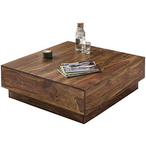 Wohnling Jaipur S02 Tavolino, Legno Massello, Rovere