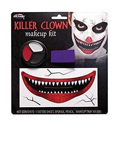 Palmers Halloween Big Smile Killer Clown Make-Up Kit by