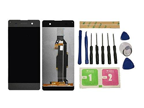 Flügel para Sony Xperia XA F3111 F3113 F3115 Pantalla LCD pantalla Negro Táctil digitalizador Asamblea Pantalla ( sin marco ) de Recambio & Herramientas