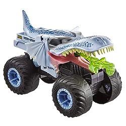 5. Hot Wheels 1:24 Scale Monster Trucks MEGA-WREX Blue