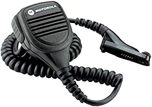 Motorola Original PMMN4025 PMMN4025A IMPRES Remote Speaker Microphone w/ 3.5mm Audio Jack for MotoTurbo XPR6300, XPR6350, XPR6380, XPR6500, XPR6550, XPR6580