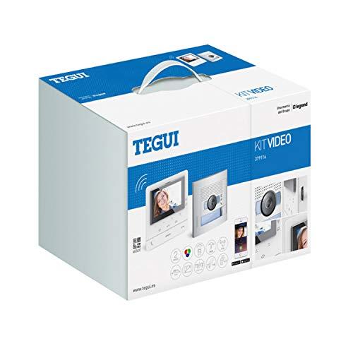 """Kit Videoportero 2 hilos Tegui Sfera New con monitor CLASSE100X16E Conectado 379116"", blanco, estándar"