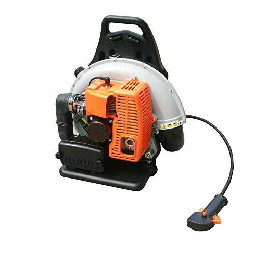 2700W 3.6HP 2 tiempos 65cc Mochila de gasolina Soplador de hojas, soplador de hojas de jardín