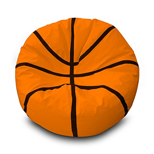 Puff Basketball Ø100cm (Naranja)
