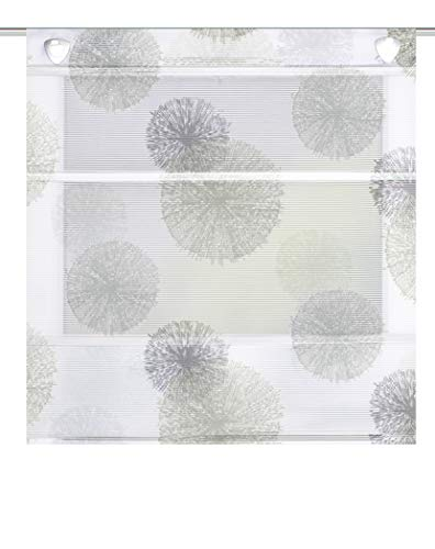 Home Fashion MAGNETROLLO BAMBUSOPTIK Rawlins, Stein, 130 X 60 cm