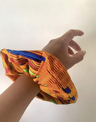 Jumbo Max 87% OFF Kente African Print sold out Scrunchie