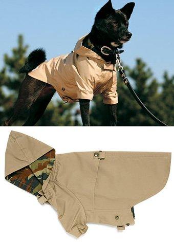 犬のレインコート レインパーカー4号 犬と生活