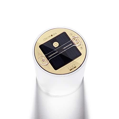 MPOWERD Luci Bougie solaire gonflable pour adulte, modèle nouveau, 4 x 4