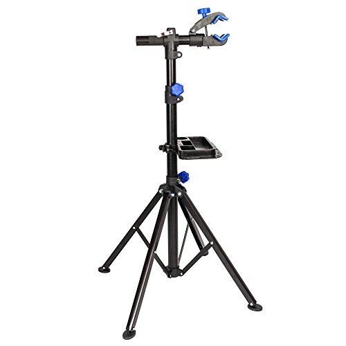 TimmyHouse Bike Bicycle Cycle Repair Work Maintenance Stand Clamp Rack Trainer Portable