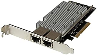 StarTech.com بطاقة شبكة 1 منفذ 10G PCIe - 10GBase-T/NBASE-T - RJ45 Port - Intel X550 Chipset - بطاقة إيثرنت - محول شبكة - ...