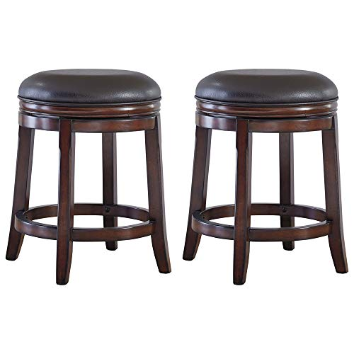 Porter Swivel Stool Rustic Brown - Signature Design by Ashley
