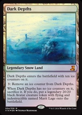 Magic The Gathering - Dark Depths (004/016) - from The Vault: Lore - Foil