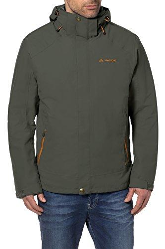 VAUDE Herren Tolstadh 3 in 1 Jacket, Olive, L, 05290