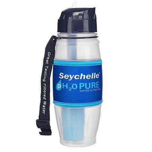 Seychelle pH20 Alkaline Water Filter Bottle