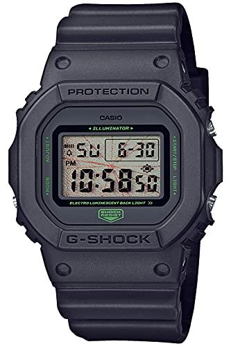 [カシオ] 腕時計 ジーショック YOSHIROTTEN デザイン MUSIC NIGHT TOKYO DW-5600MNT-1JR メンズ ブラック