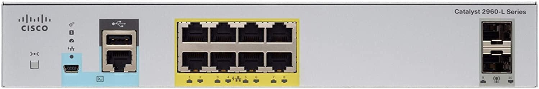 Cisco WS-C2960CX-8TC-L Catalyst 2960-CX 8 Port Data LAN Base (6779D63)