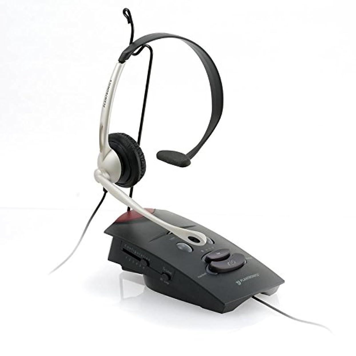 組み込むシロナガスクジラ申請中Plantronics電話ヘッドセットシステムs11?(認定Refurbished)