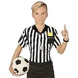 WIDMANN MILANO PARTY FASHION T-Shirt Arbitro di Calcio Bambino 11/13 Anni (146/158)