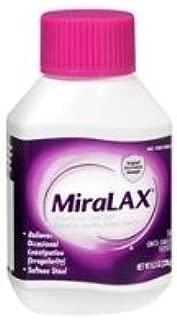 MiraLAX Laxative Powder - 8.3 oz bottle - 3 each - Model 04110082073