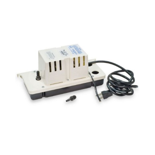 Little Giant VCC-20ULS Low Profile Tank Condensate Removal Pump With Safety Switch, Color