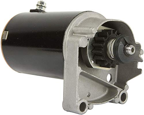 DB Electrical SBS0009 New Starter Motor Compatible With/Replacement For Briggs V Twin 14HP 16HP 18HP / 393017 394674 394808 497596 399928 495100 498148