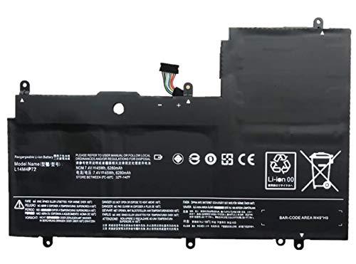 ASKC L14M4P72 Laptop Battery for Lenovo Yoga 3 14 inch Yoga 3-1470 IdeaPad Yoga 700-14ISK Series L14S4P72 5B10K10224 5B10K10226 5B10G75095 5B10G84689 7.4V 45Wh 6280mAh