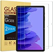 2 Pack SPARIN Tempered Glass Screen protector Compatible with Samsung Galaxy Tab A7 2020 10.4 inch