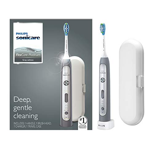Philips Sonicare HX9111/12 Flexcare Platinum, Electric Rechargeable Toothbrush, Grey