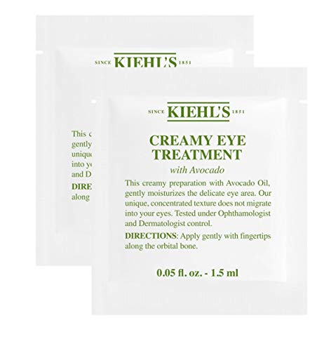 Kiehl's Creamy Eye Treatment With Avocado Sample Packets, Set of 2