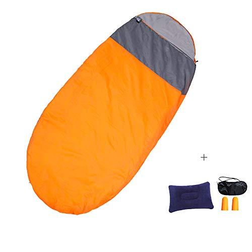 ALLIKING Ei Schlafsäcke Mumie Leicht atmungsaktiv Wasserdicht bei warmem kaltem Wetter für Erwachsene Kinder - Ideal zum Wandern Camping Rucksack