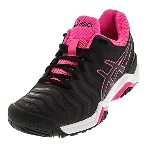 ASICS Gel-Challenger 11 Black/Black/Hot Pink Women's Tennis...