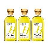 Licor de hierbas Vizconde de Tui de 70 cl - D.O. Galicia - Bodegas Gonzalez Byass (Pack de 3 botellas)