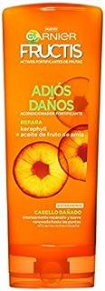 Garnier Fructis Adiós Daños Acondicionador Fortificante y Reparador con Keraphyll y Aceite de Fruto de Amla - 250 ml