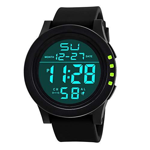 Voigoo Herrenuhren Multi-Funktions-Militär Sport LED-Digital-Doppel Bewegung Reloj Hombre Deportivo Uhr-Mann 2020 Reloj Led
