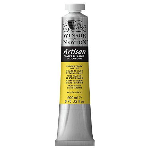 Winsor & Newton Artisan Tubo óleo miscible en Agua, 200 ml, Tono Amarillo de cadmio pálido