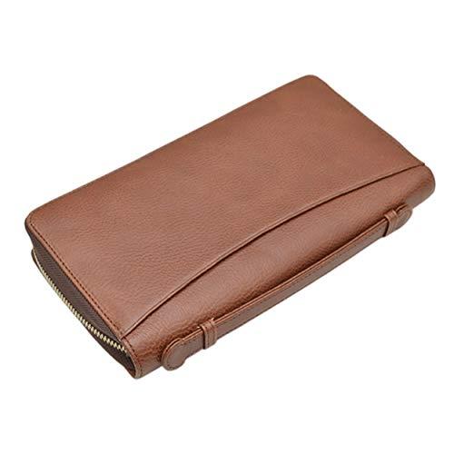 パスポートケース トラベルオーガナイザー 防犯 RFID 電磁波遮断シート おしゃれ メンズ レディース 本革 DUCT(ダクト) NLSVV-097 (シュリンクブラウン)