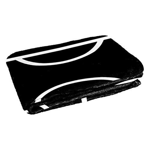 CHINFY Coperta da calcio extra morbida, coperta da viaggio in poliestere, grande coperta per letto, divano o poltrona, dormitorio