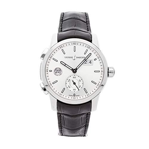 Ulysse Nardin Dual Time Herstellung Stahl Armbanduhr 3343–126/91