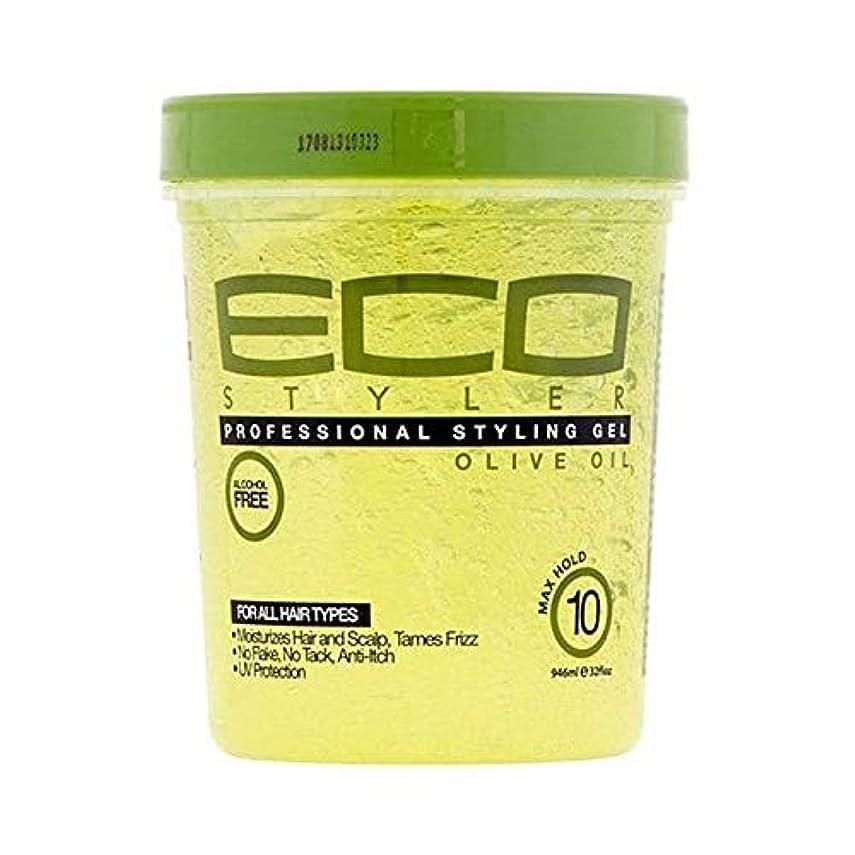 電信オアシス鷲[ECO STYLER ] エコスタイラオリーブ油スタイリングゲル946ミリリットル - ECO Styler Olive Oil Styling Gel 946ml [並行輸入品]
